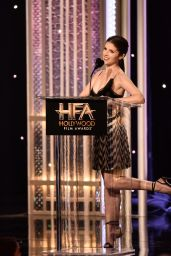 Anna Kendrick – The 20th Annual Hollywood Awards in Los Angeles 11/06/2016