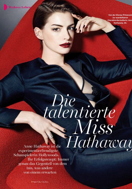 Anne Hathaway - Myself Magazine - December 2016 Issue