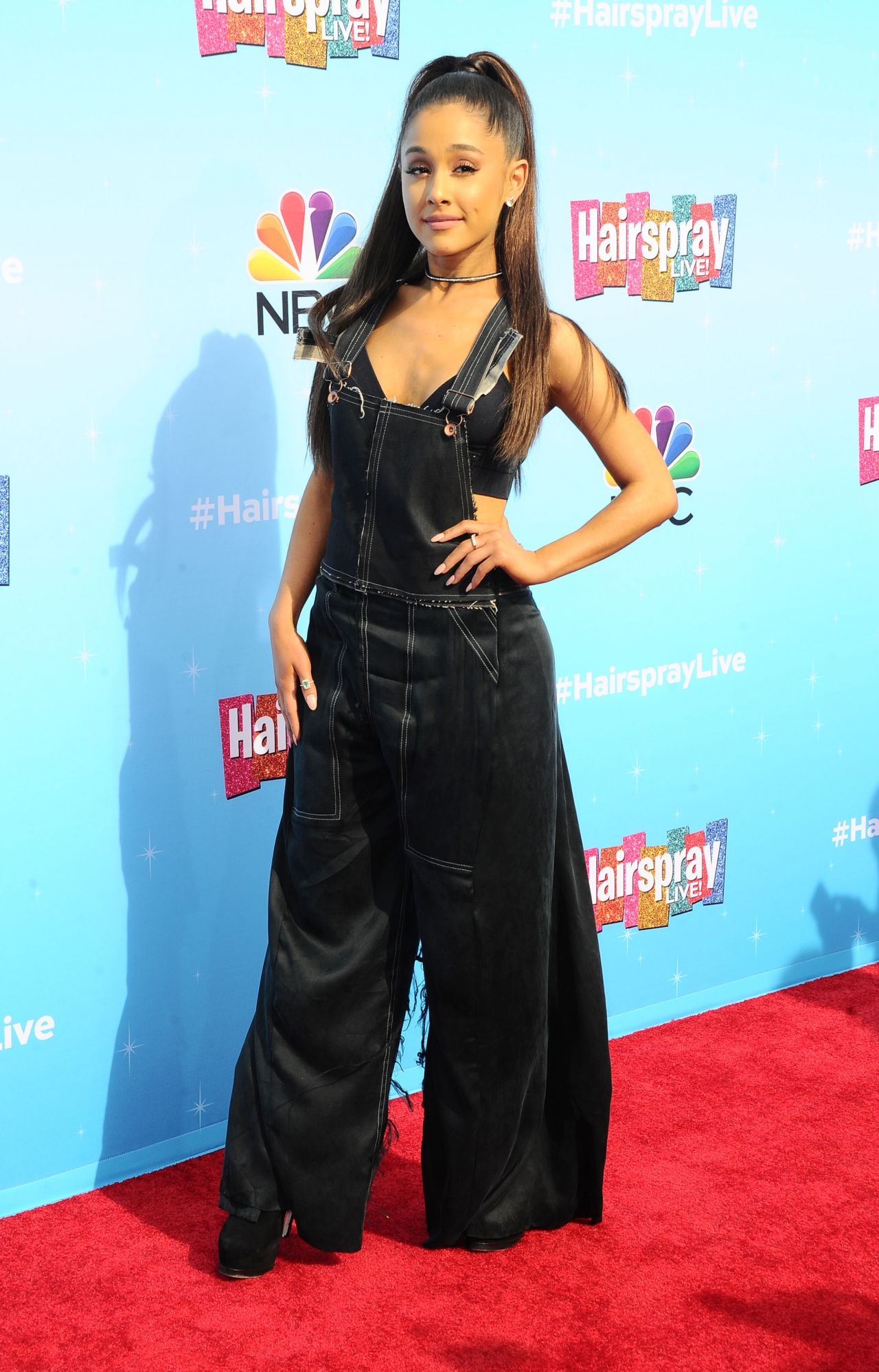 Ariana Grande Hairspray Live Press Junket In
