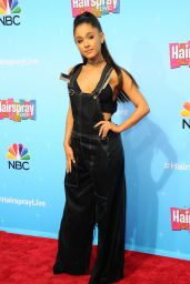Ariana Grande – 'Hairspray Live!' Press Junket in Universal City 11/16/ 2016