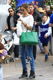 Arielle Kebbel Street Style - Shopping at The Grove in LA 11/19/ 2016