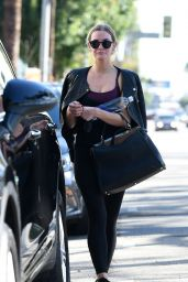 Ashlee Simpson - Looks Refreshed After Finishing a Workout, LA 11/9/2016