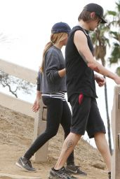 Ashley Tisdale - Hike in LA