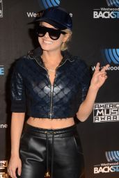 Bebe Rexha - Westwood One Backstage at The American Music Awards Day 2 in LA 11/19/ 2016