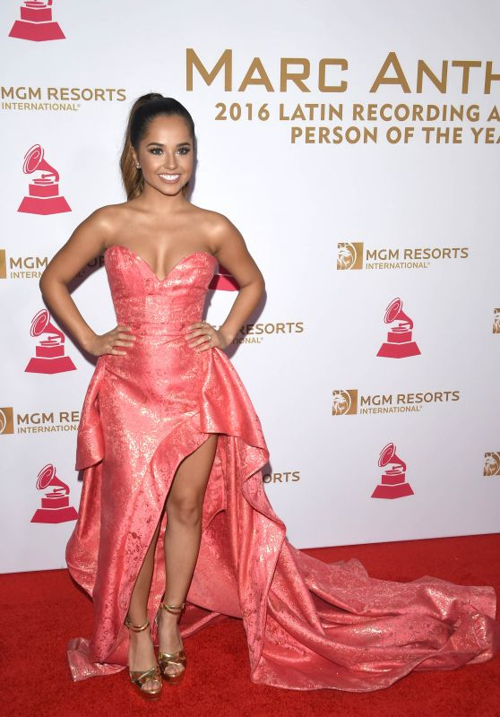 Becky G on red Carpet - Latin Grammy Awards 2016 in Las Vegas