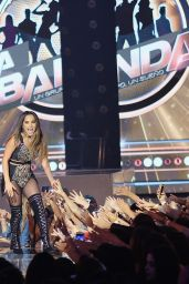 Becky G Performs in First Live Episode of Univision Networks La Banda in Miami 10/30/ 2016
