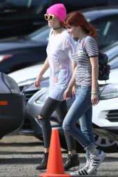 Bella & Dani Thorne at Mercado Sagrado Arts Festival in Sherman Oaks 11/6/ 2016