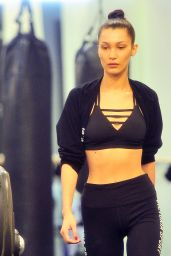 Bella Hadid at Gotham Gym in New York City 11/16/ 2016