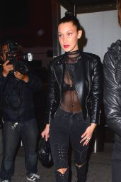 Bella Hadid at UFC 205 in Madison Square Garden 11/12/ 2016