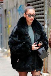 Bella Hadid Urban Outfit - NYC 11/20/ 2016