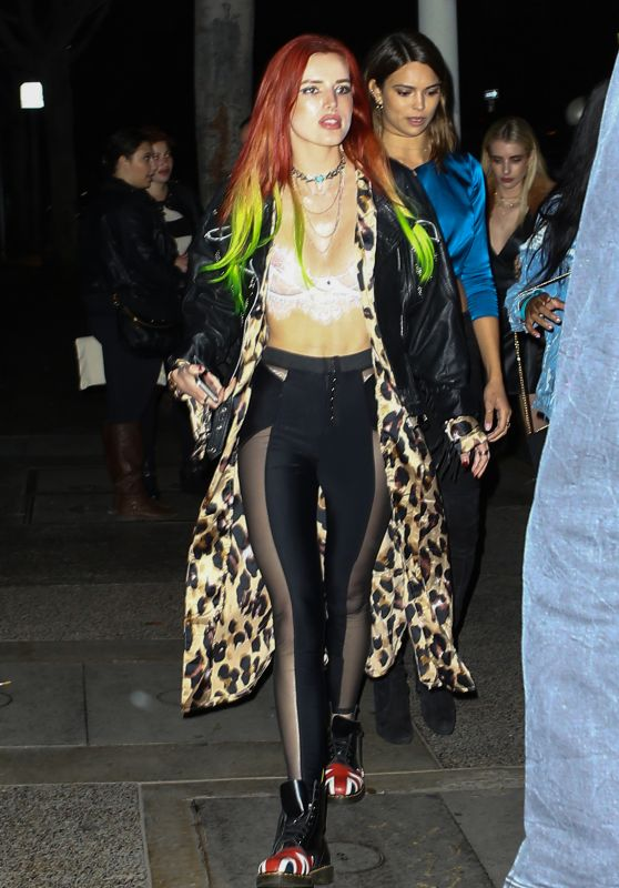 Bella Thorne - Out in LA 11/19/ 2016