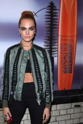 Cara Delevingne - Arriving at Kachette for Rimmel London As Their New Ambassador 11/9/ 2016