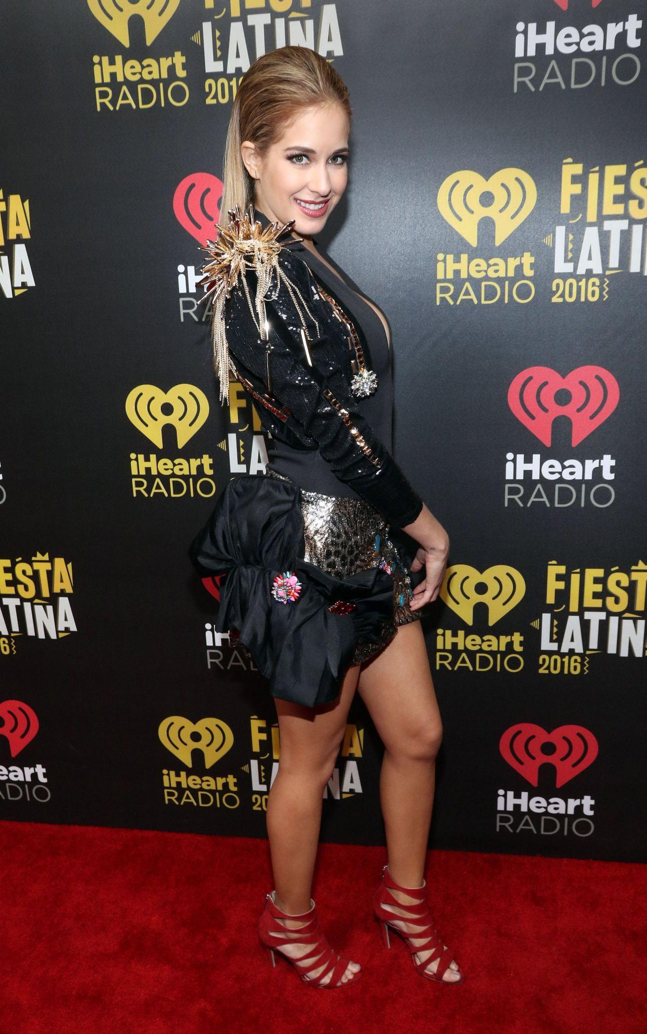Carmen Aub - iHeart Radio Fiesta Latina 2016 in Florida 11 ... Gaby Espino 2017
