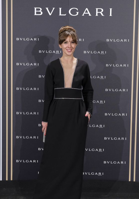 Carolina Lapausa – Bulgari Cocktail Event in Madrid 11/28/ 2016