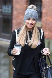 Catherine Tyldesley Urban Style - Leaving Key 103 Radio Station in Manchester 11/14/ 2016