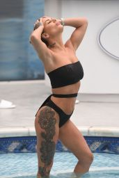 Chantelle Connelly Bikini Pics - at a Spa in Liverpool, UK 11/22/ 2016