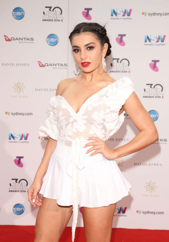 Charli XCX - 30th Annual ARIA Awards 2016 in Sydney, Australia