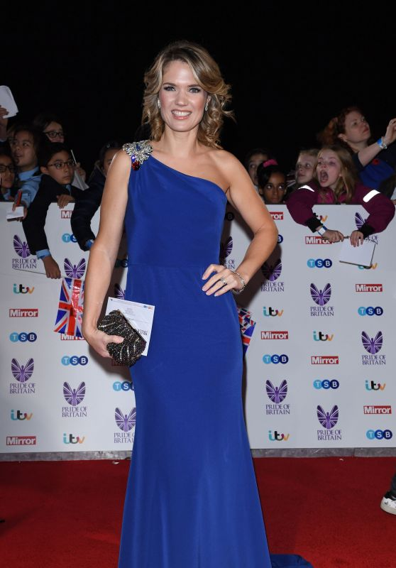 Charlotte Hawkins – Pride of Britain Awards in London 10/31/ 2016