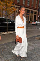 Chrissy Teigen Style - Soho in NYC 11/15/ 2016