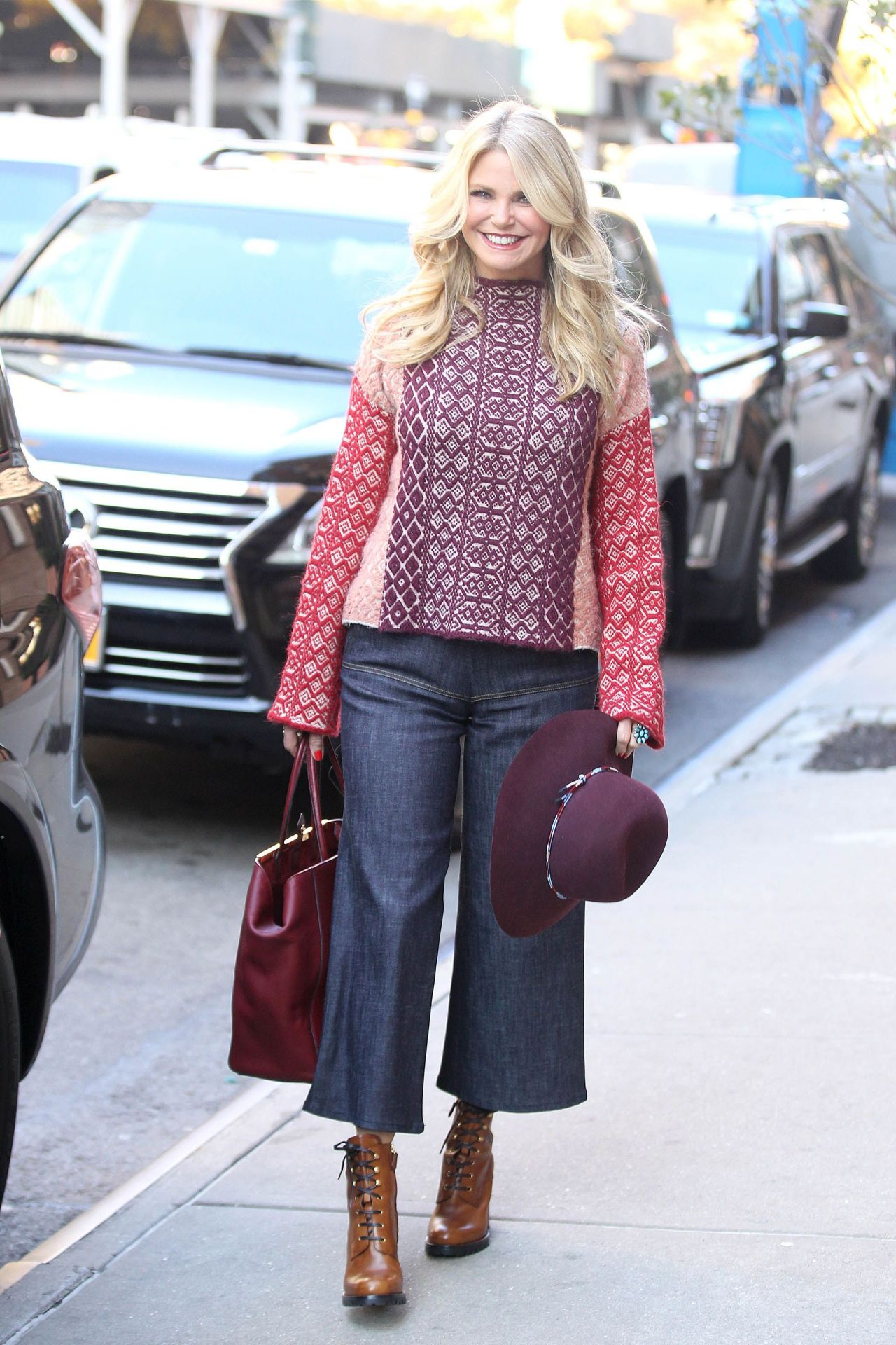 Christie Brinkley Style Out In Nyc 11 17 2016