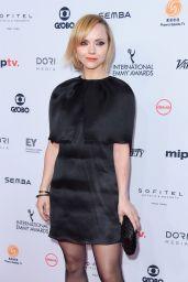 Christina Ricci - International Emmy Awards 2016 in NYC