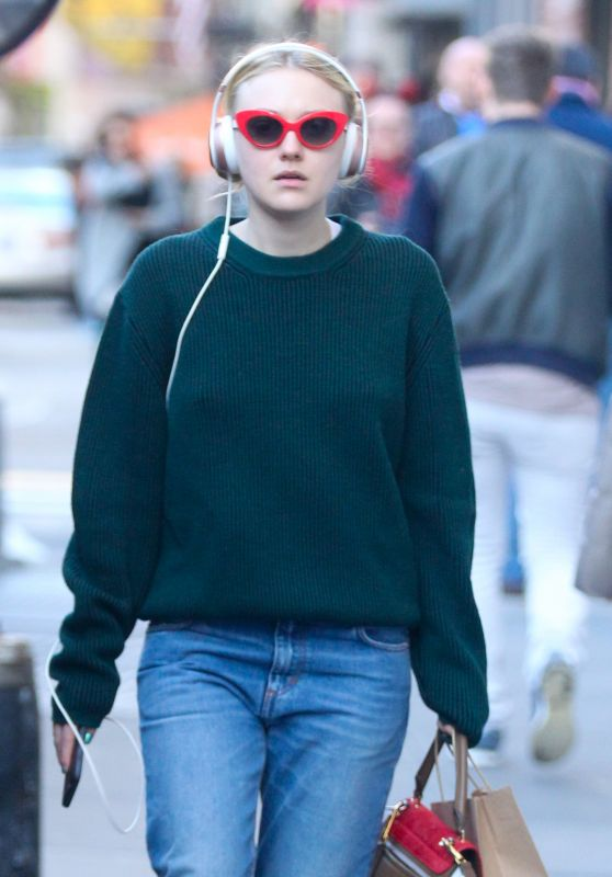 Dakota Fanning - Out in SoHo 10/31/ 2016
