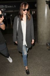 Dakota Johnson at LAX 11/4/ 2016