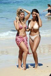 Devin Brugman & Natasha Oakley in Bikini - Bondi Beach in Sydney 11/16/ 2016