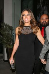 Elizabeth Hurley at Catch in West Hollywood 11/16/ 2016