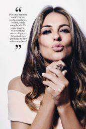 Elizabeth Hurley - Elle Magazine Spain December 2016 Issue