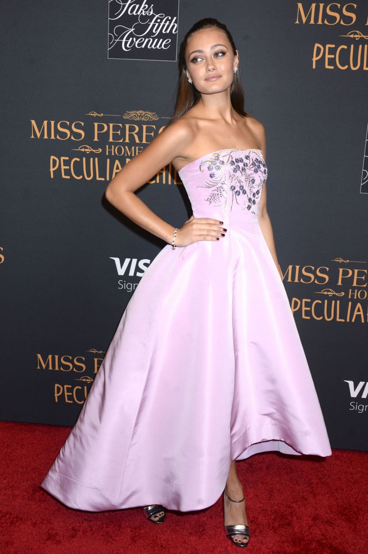 Ella Purnell Miss Peregrine S Home For Peculiar