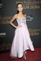 Ella Purnell - 'Miss Peregrine's Home for Peculiar Children' Premiere in NYC