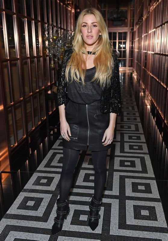 Ellie Goulding at Rosewood in London, November 2016