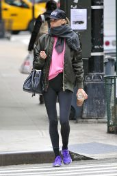 Elsa Hosk - Going to a Gym in NYC, November 2016