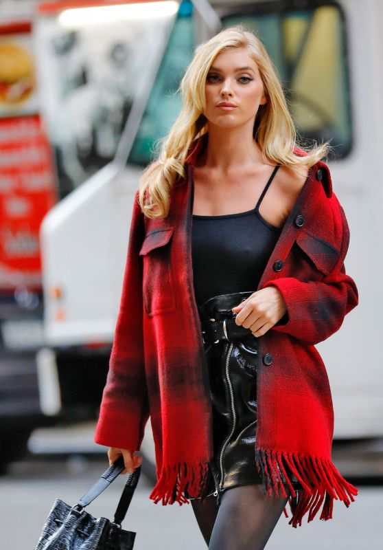 Elsa Hosk Style - Out in NYC 11/1/ 2016