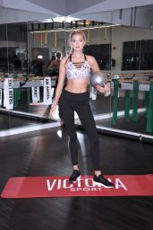Elsa Hosk – Victoria's Secret Train Like An Angel in NYC - Part II