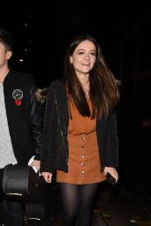 Emily Middlemas - Arriving to a Private Gig in London 11/11/2016