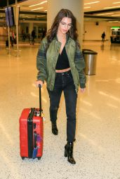 Emily Ratajkowski at JFK Airport in New York City, October 2016