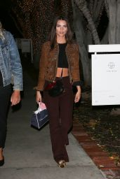 Emily Ratajkowski - Shopping at Chanel in Beverly Hills 11/22/ 2016