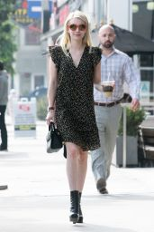 Emma Roberts - Shopping in West Hollywood, CA 11/16/ 2016