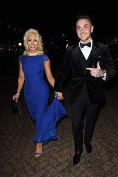 Emma Stephens - James Milner Charity Ball at Event City in Manchester 11/27/ 2016