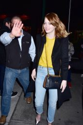 Emma Stone - Arrives for a Q&A for