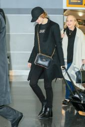 Emma Stone at JFK Airport in NYC, November 2016