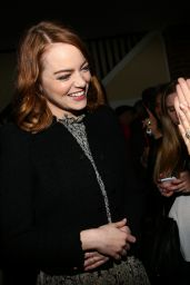 Emma Stone - Cocktail Celebration for Emma Stone and LaLa Land in Los Angeles