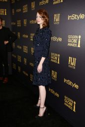 Emma Stone – HFPA & InStyle's Celebration of Golden Globe Awards Season in LA 11/10/2016