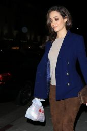 Emmy Rossum - Beverly Hills, California 11/09/2016