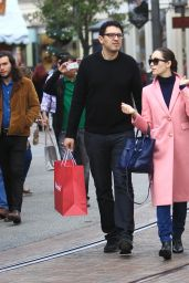 Emmy Rossum - Shopping With Her Boyfriend in Los Angeles 11/26/ 2016