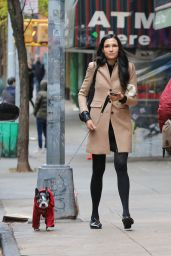 Famke Janssen - Out in New York, November 2016