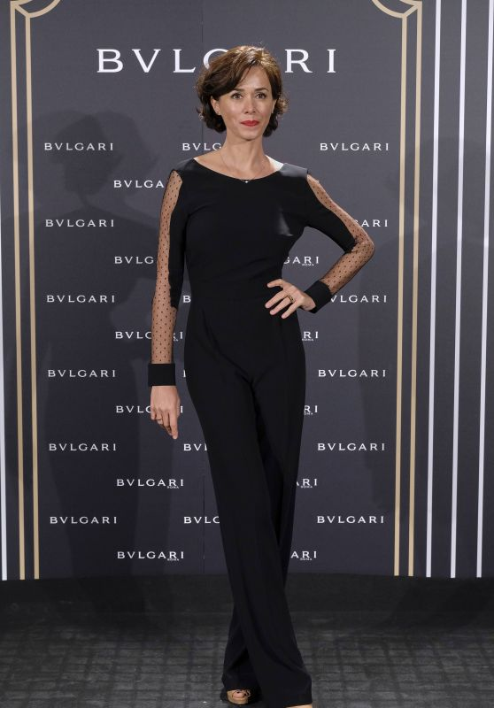 Fanny Gautier – Bulgari Cocktail Event in Madrid 11/28/ 2016