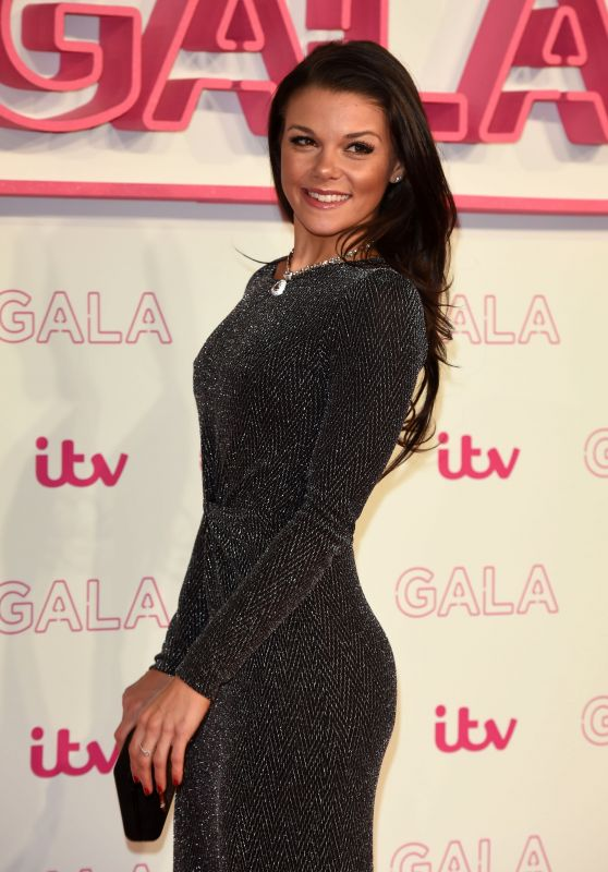 Faye Brookes – The ITV Gala in London 11/24/ 2016